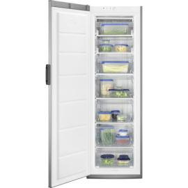 Congelador vertical inox ZANUSSI ZUAN28FX