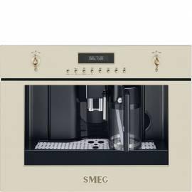 Cafetera integrable SMEG CMS8451P CREMA