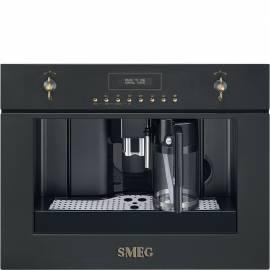Cafetera integrable SMEG CMS8451A NEGRO