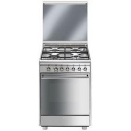Cocina Independiente Horno Gas SMEG CX61GV9 INOX