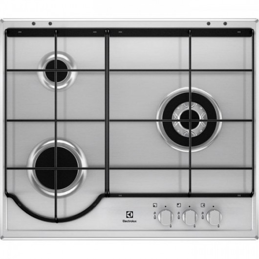 Placa de Gas Natural ELECTROLUX EGH6233BOX INOX