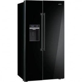 Frigorífico Side by Side SMEG SBS63NED NEGRO