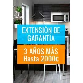 Extensión Garantía Máximo 2000€