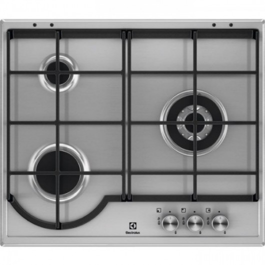 Placa de Gas Natural ELECTROLUX EGH6333BOX INOX
