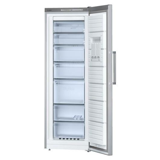 Congelador Vertical BOSCH GSN33VL30 ACERO MATE ANTIHUELLAS