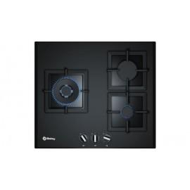 Placa Gas de Cristal Negro BALAY 3ETG663HB 60 cm