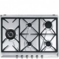 Placa de Gas Natural SMEG SRV575GH5 INOX